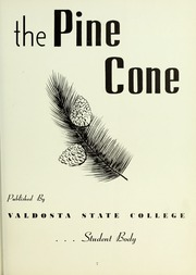 Page 11, 1954 Edition, Valdosta State University - Pinecone Yearbook (Valdosta, GA) online yearbook collection