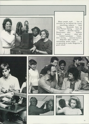 Page 17, 1986 Edition, Ridgeview Middle School - Renaissance Yearbook (Atlanta, GA) online yearbook collection