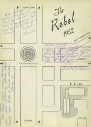Page 7, 1952 Edition, Robert E Lee Institute - Rebel Yearbook (Thomaston, GA) online yearbook collection
