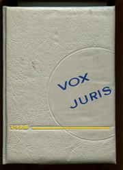 Page 1, 1958 Edition, John Marshall Law School - Vox Juris Yearbook (Atlanta, GA) online yearbook collection