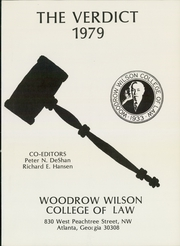 Page 5, 1979 Edition, Woodrow Wilson College of Law - Verdict Yearbook (Atlanta, GA) online yearbook collection