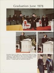 Page 6, 1979 Edition, Woodrow Wilson College of Law - Verdict Yearbook (Atlanta, GA) online yearbook collection