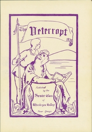 Page 7, 1926 Edition, Wesleyan College - Veterropt Yearbook (Macon, GA) online yearbook collection