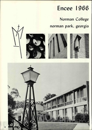 Page 16, 1966 Edition, Norman College - Encee Yearbook (Norman Park, GA) online yearbook collection