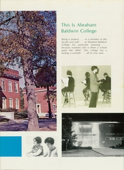 Page 7, 1969 Edition, Abraham Baldwin Agricultural College - ABAC Yearbook (Tifton, GA) online yearbook collection