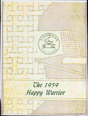 1959 Edition, Birdwood College - Happy Warrior Yearbook (Thomasville, GA)