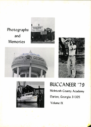 Page 5, 1979 Edition, McIntosh County Academy - Buccaneer Yearbook (Darien, GA) online yearbook collection