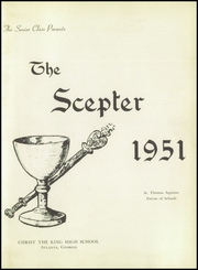 Page 5, 1951 Edition, Christ the King High School - Scepter Yearbook (Atlanta, GA) online yearbook collection