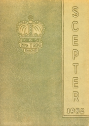 Page 1, 1952 Edition, Christ the King High School - Scepter Yearbook (Atlanta, GA) online yearbook collection