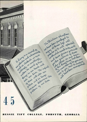 Page 9, 1945 Edition, Tift College - Chiaroscuro Yearbook (Forsyth, GA) online yearbook collection