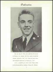 Page 5, 1955 Edition, Riverside Military Academy - Bayonet Yearbook (Gainesville, GA) online yearbook collection