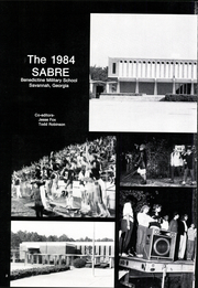 Page 6, 1984 Edition, Benedictine Military Academy - Sabre Yearbook (Savannah, GA) online yearbook collection