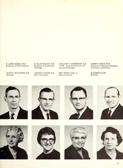 Page 15, 1959 Edition, Covenant College - Tartan Yearbook (Lookout Mountain, GA) online yearbook collection