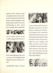 Page 7, 1959 Edition, Covenant College - Tartan Yearbook (Lookout Mountain, GA) online yearbook collection