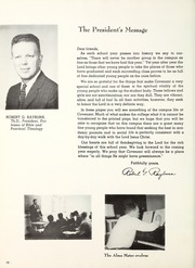Page 14, 1962 Edition, Covenant College - Tartan Yearbook (Lookout Mountain, GA) online yearbook collection