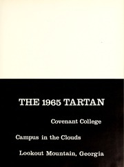 Page 13, 1965 Edition, Covenant College - Tartan Yearbook (Lookout Mountain, GA) online yearbook collection