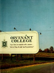 Page 3, 1965 Edition, Covenant College - Tartan Yearbook (Lookout Mountain, GA) online yearbook collection