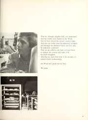 Page 17, 1971 Edition, Covenant College - Tartan Yearbook (Lookout Mountain, GA) online yearbook collection