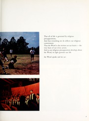 Page 9, 1971 Edition, Covenant College - Tartan Yearbook (Lookout Mountain, GA) online yearbook collection