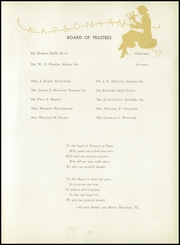 Page 11, 1937 Edition, North Avenue Presbyterian School - Napsonian Yearbook (Atlanta, GA) online yearbook collection