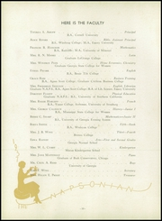 Page 14, 1937 Edition, North Avenue Presbyterian School - Napsonian Yearbook (Atlanta, GA) online yearbook collection