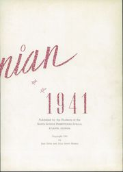 Page 7, 1941 Edition, North Avenue Presbyterian School - Napsonian Yearbook (Atlanta, GA) online yearbook collection
