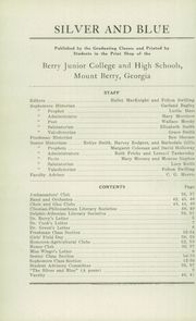 Page 14, 1930 Edition, Berry High School - Torch Yearbook (Mount Berry, GA) online yearbook collection