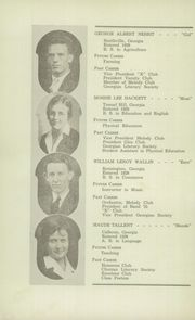 Page 14, 1932 Edition, Berry High School - Torch Yearbook (Mount Berry, GA) online yearbook collection
