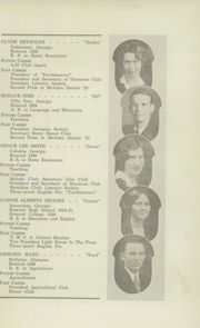 Page 15, 1932 Edition, Berry High School - Torch Yearbook (Mount Berry, GA) online yearbook collection