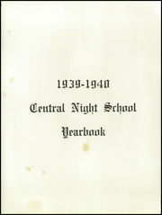 Page 6, 1940 Edition, Central Night School - Yearbook (Atlanta, GA) online yearbook collection