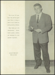 Page 5, 1957 Edition, Bradwell Institute - Lions Den (Hinesville, GA) online yearbook collection