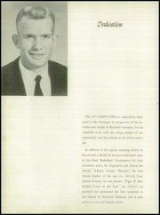 Page 6, 1957 Edition, Bradwell Institute - Lions Den (Hinesville, GA) online yearbook collection