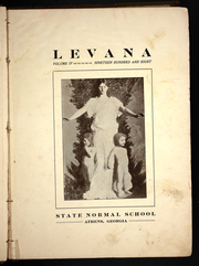 Page 7, 1908 Edition, State Normal School - Levana Yearbook (Athens, GA) online yearbook collection