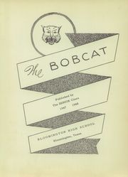 Page 7, 1948 Edition, Bloomington High School - Bobcat Yearbook (Bloomington, TX) online yearbook collection