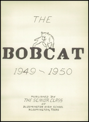 Page 5, 1950 Edition, Bloomington High School - Bobcat Yearbook (Bloomington, TX) online yearbook collection