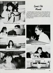 Page 71, 1989 Edition, Bloomington High School - Bobcat Yearbook (Bloomington, TX) online yearbook collection