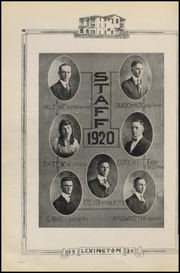 Page 10, 1920 Edition, Gonzales High School - Lexington Yearbook (Gonzales, TX) online yearbook collection