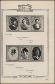 Page 17, 1920 Edition, Gonzales High School - Lexington Yearbook (Gonzales, TX) online yearbook collection