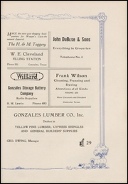 Page 139, 1925 Edition, Gonzales High School - Lexington Yearbook (Gonzales, TX) online yearbook collection