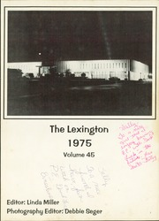 Page 5, 1975 Edition, Gonzales High School - Lexington Yearbook (Gonzales, TX) online yearbook collection