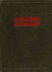 Page 1, 1929 Edition, San Angelo Central High School - Westerner Yearbook (San Angelo, TX) online yearbook collection