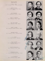 Page 13, 1941 Edition, San Angelo Central High School - Westerner Yearbook (San Angelo, TX) online yearbook collection