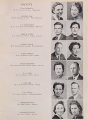 Page 15, 1941 Edition, San Angelo Central High School - Westerner Yearbook (San Angelo, TX) online yearbook collection