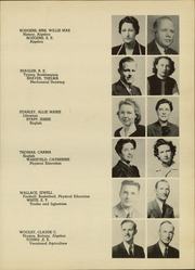 Page 17, 1945 Edition, San Angelo Central High School - Westerner Yearbook (San Angelo, TX) online yearbook collection