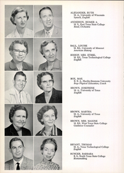 Page 14, 1958 Edition, San Angelo Central High School - Westerner Yearbook (San Angelo, TX) online yearbook collection