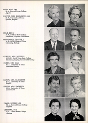 Page 15, 1958 Edition, San Angelo Central High School - Westerner Yearbook (San Angelo, TX) online yearbook collection