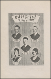 Page 10, 1920 Edition, Corpus Christi High School - Duffle Bag Yearbook (Corpus Christi, TX) online yearbook collection