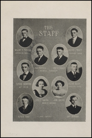 Page 14, 1921 Edition, Corpus Christi High School - Duffle Bag Yearbook (Corpus Christi, TX) online yearbook collection