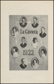 Page 8, 1922 Edition, Corpus Christi High School - Duffle Bag Yearbook (Corpus Christi, TX) online yearbook collection