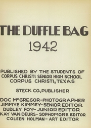 Page 5, 1942 Edition, Corpus Christi High School - Duffle Bag Yearbook (Corpus Christi, TX) online yearbook collection